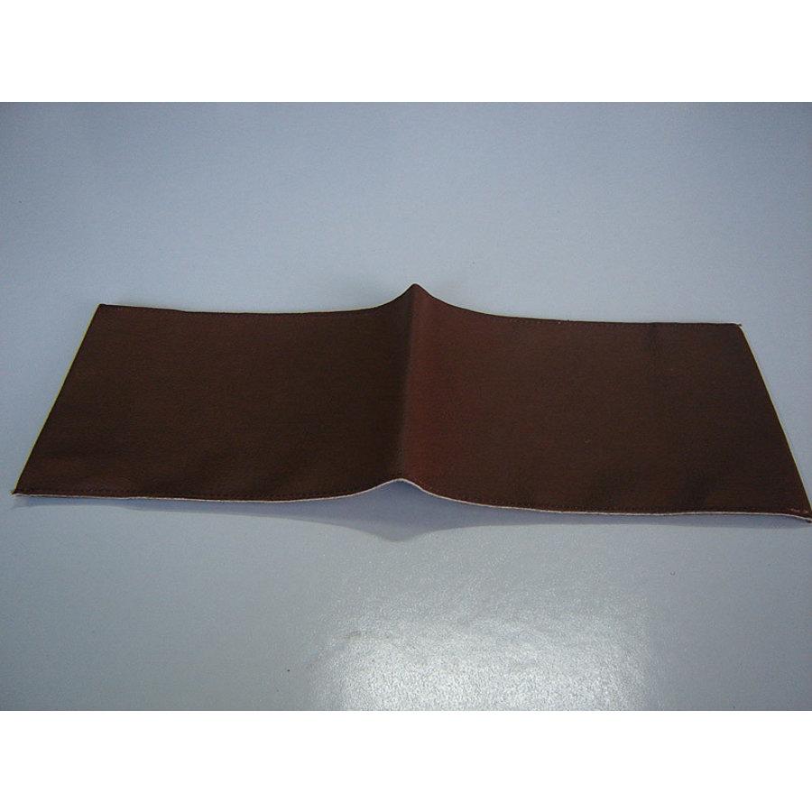 Couverture en cuir marron pour la notice d'entretien (145 x 190 ) Citroën Accessoire-1