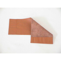 Cover made of light brown leather for instruction manual (145 x 190) Citroën Accessoire