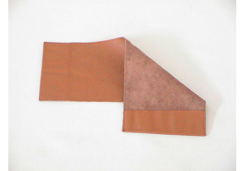 Couverture en cuir tabac pour la notice d'entretien (145 x 190) Citroën Accessoire