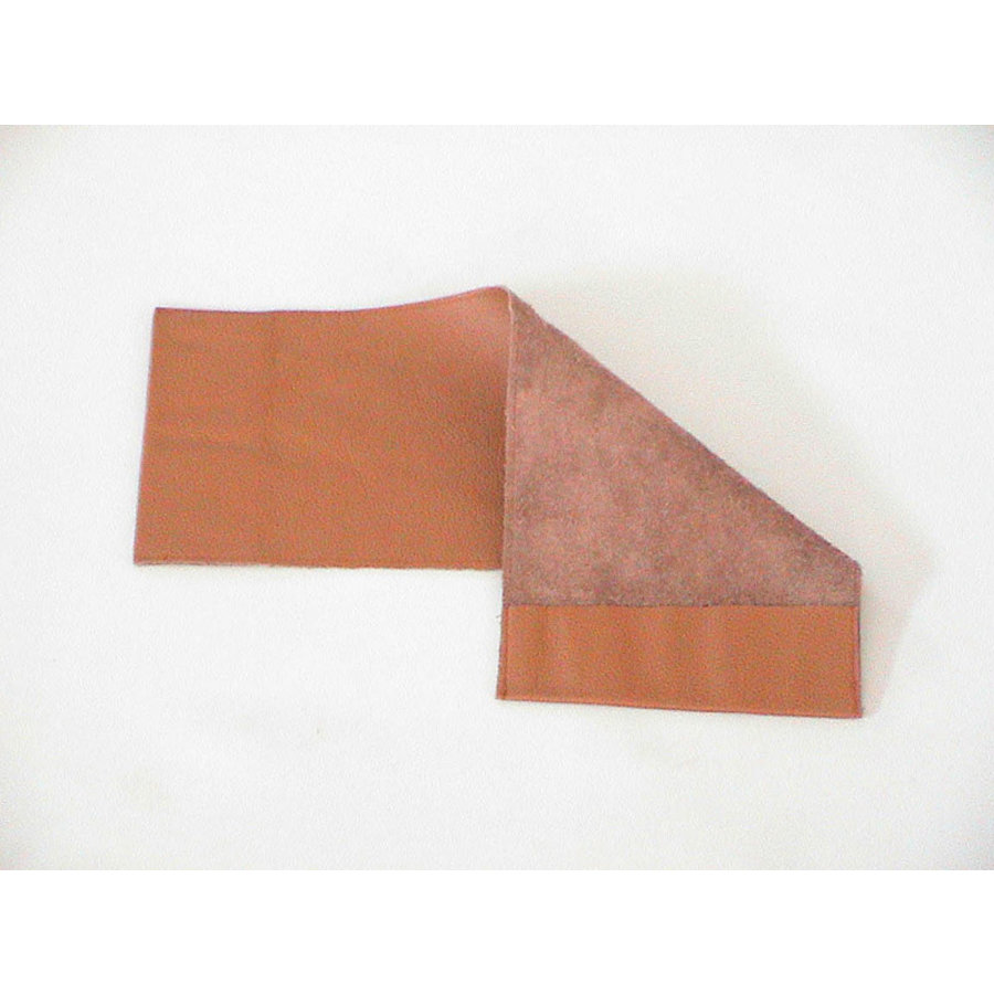 Cover made of light brown leather for instruction manual (145 x 190) Citroën Accessoire-1
