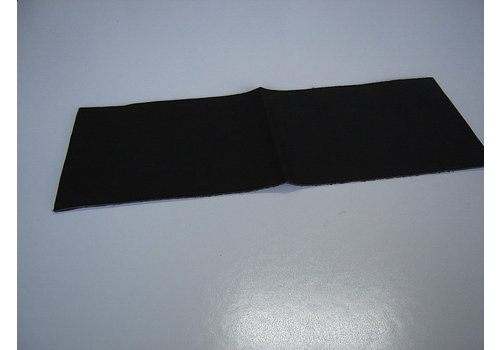 Cover made of black leather for instruction manual (145 x 190) Citroën Accessoire