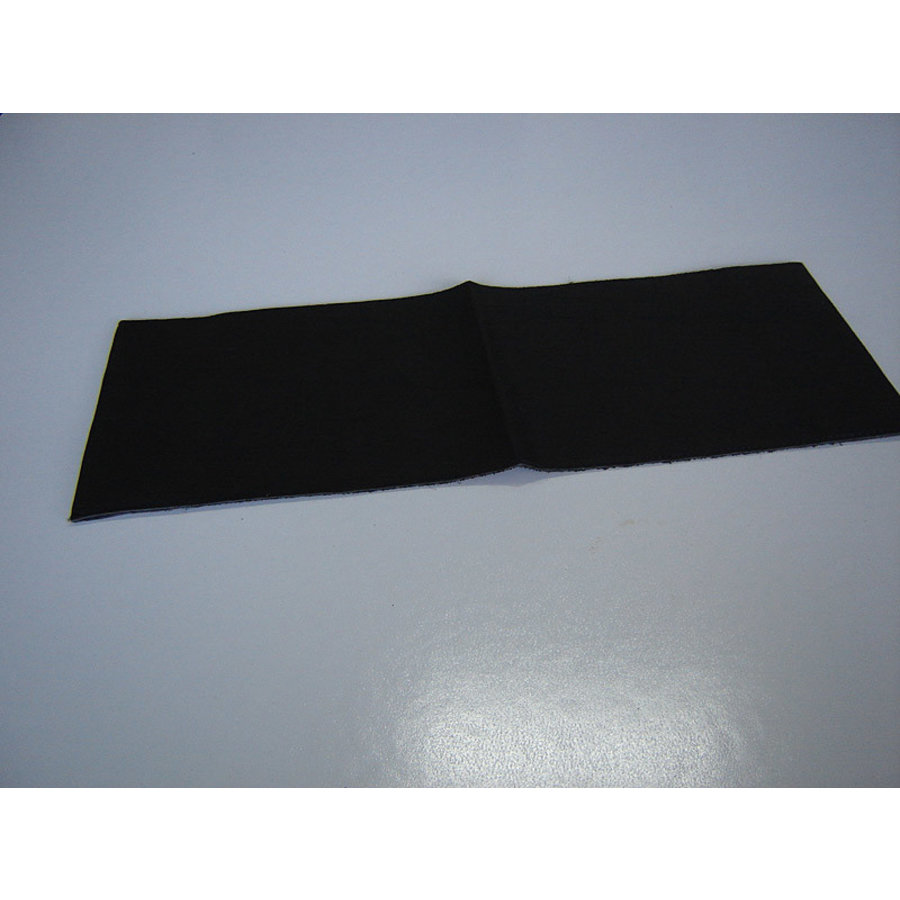 Cover made of black leather for instruction manual (145 x 190) Citroën Accessoire-1