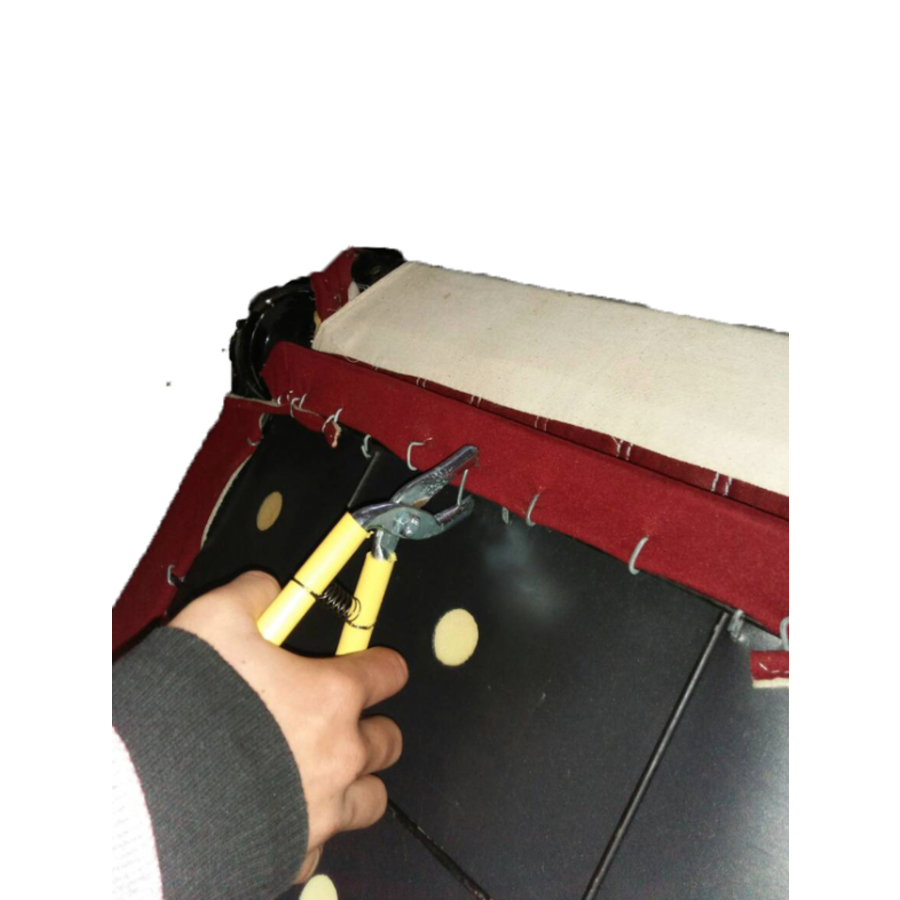 Hog ring pliers to mount seat covers-3