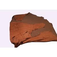thumb-Leatherskin dark brown (price per square foot (ft2) 1 M2 = 11 ft2)-1