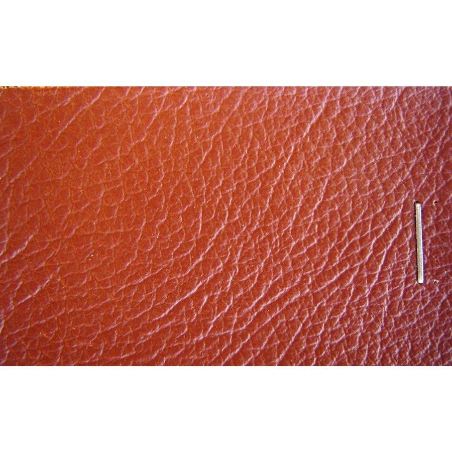 PVC braun Lederstruktur (Preis pro Meter +/- 150 m breit)UpholsteryMaterial-1