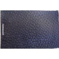 PVC schwarz grobe Lederstruktur (Preis pro Meter +/- 150 m breit)UpholsteryMaterial