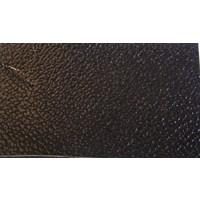 Floor cover [5 mm] black leatherette (price per meter width +/- 150M)