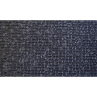 thumb-Floor cover gray leatherette (price per meter width = 140 M)-2