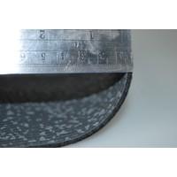thumb-Floor cover gray leatherette (price per meter width = 140 M)-3
