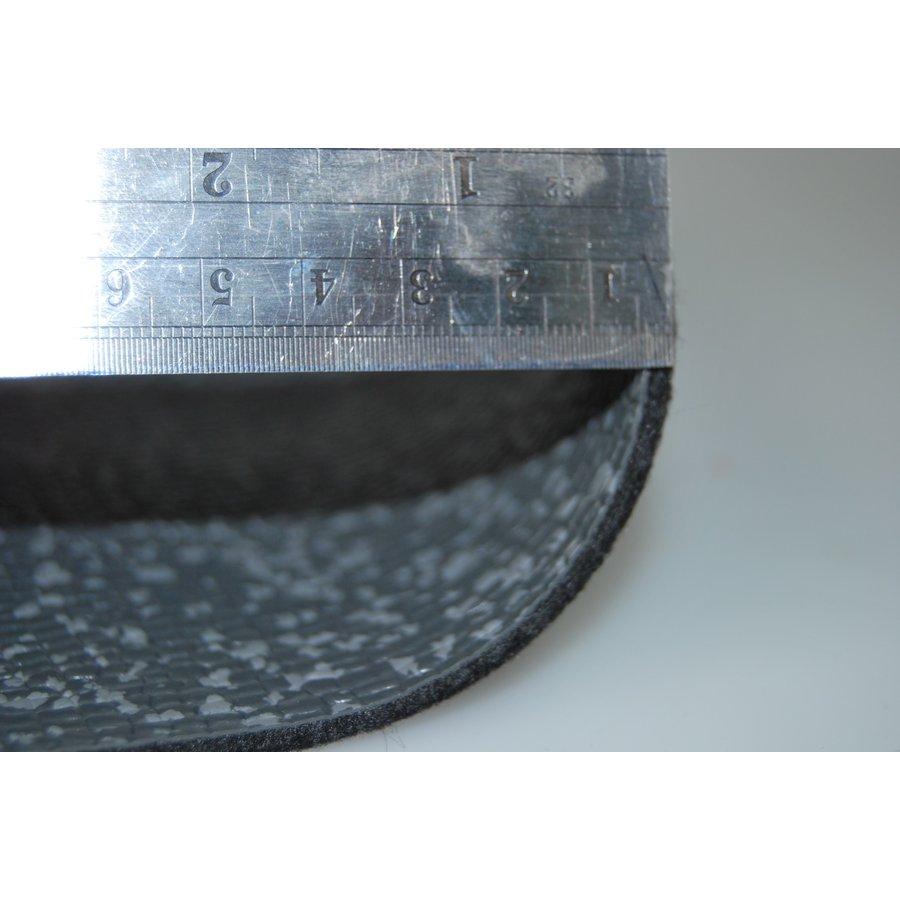 Floor cover gray leatherette (price per meter width = 140 M)-3