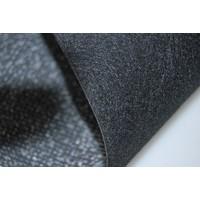 thumb-Floor cover gray leatherette (price per meter width = 140 M)-5