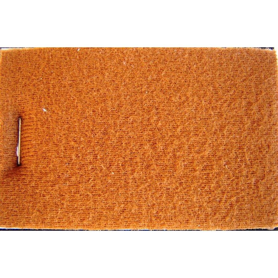 Etoffe couleur ocre + 3 mm de mousse (prix au metre largeur +/- 150 M)-1