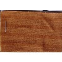 Etoffe couleur ocre SANS MOUSSE rayé (prix au metre largeur +/- 150 M) Pallas