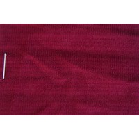 Cloth red color WITHOUT FOAM striped Pallas (price per meter width +/- 150 M)