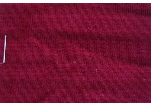 Material Cloth red color WITHOUT FOAM striped Pallas (price per meter width +/- 150 M)