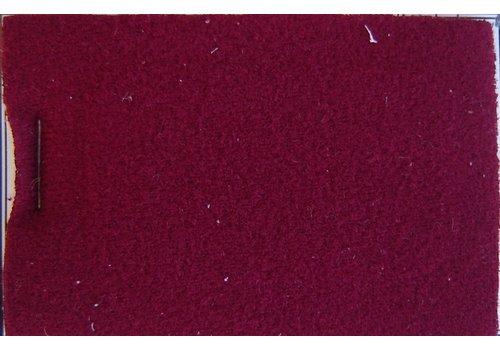 Etoffe couleur rouge + 3 mm de mousse (prix au metre largeur +/- 150 M)