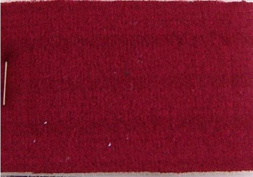 Cloth red color striped Pallas + 3 mm foam (price per meter width +/- 150 M)