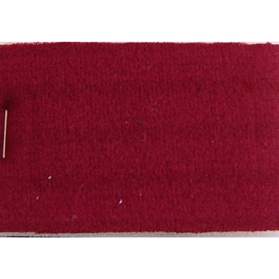 Cloth red color striped Pallas + 3 mm foam (price per meter width +/- 150 M)-1