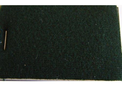 Material Green cloth + 3 mm of foam (price per meter width +/- 150 M)