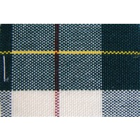 Green cloth scottish pattern (price per meter width +/- 150 M)