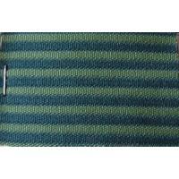 Green cloth `bayadère` (striped) (price per meter width +/- 150 M)