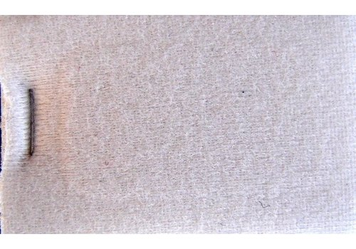 Light gray cloth + 3 mm of foam (price per meter width +/- 150 M)
