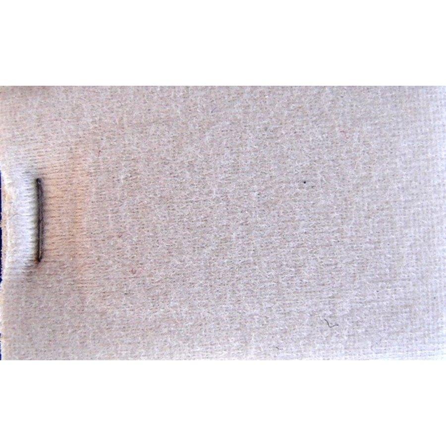 Etoffe couleur gris clair + 3 mm de mousse (prix au metre largeur +/- 150 M)-1
