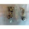 Universal Set of 10 rivets [size of head is 13 mm] chromed metal Citroën
