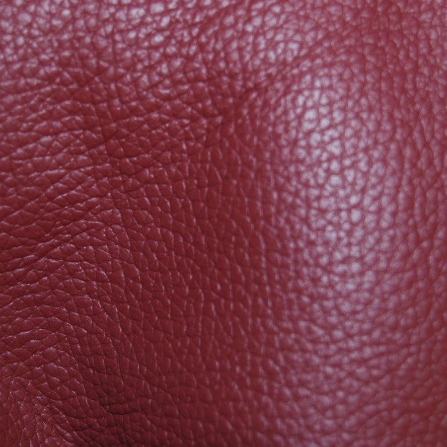 Garniture origine banquette AR BL cuir rouge (assise 1 pièce dossier 4 pièces) Citroën ID/DS-2