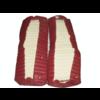 ID/DS Garniture origine banquette AR BK cuir rouge (assise 1 pièce dossier 1 pièce) Citroën ID/DS