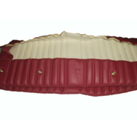 thumb-Rear bench cover red leather safari Citroën ID/DS-2