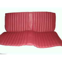 thumb-Rear bench cover red leather safari Citroën ID/DS-4