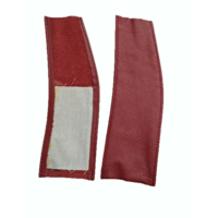thumb-Spring cover patches red leather Citroën ID/DS-2