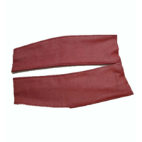 thumb-Spring cover patches red leather Citroën ID/DS-3