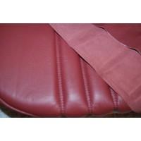 thumb-Voorstoelhoes rood leer voor schuim Citroën ID/DS-2