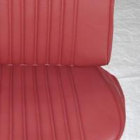 thumb-Original Sitzbezug Satz für Vordersitz leder-bezogen rot (Sitz Rückenlehne Abschlussfüllung für Schaum-Rücken) Citroën ID/DS-4