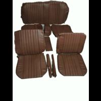 thumb-Voorstoelhoezen [2] plus achterbankhoes bruin skai Citroën ID/DS-1