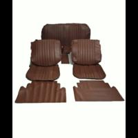 thumb-Voorstoelhoezen [2] plus achterbankhoes bruin skai Citroën ID/DS-2