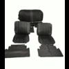 ID/DS Voorstoelhoezen [2] plus achterbankhoes zwart skai Citroën ID/DS