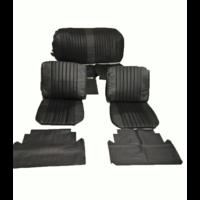 thumb-Voorstoelhoezen [2] plus achterbankhoes zwart skai Citroën ID/DS-1