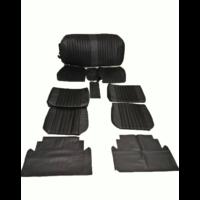 thumb-Voorstoelhoezen [2] plus achterbankhoes zwart skai Citroën ID/DS-2