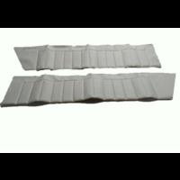 thumb-Deurbekleding set [4] bovenkant wit skai voor 4 deuren Citroën ID/DS-3