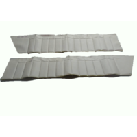 thumb-Upper door trim set [4] white leatherette (pallas) for all 4 doors Citroën ID/DS-3