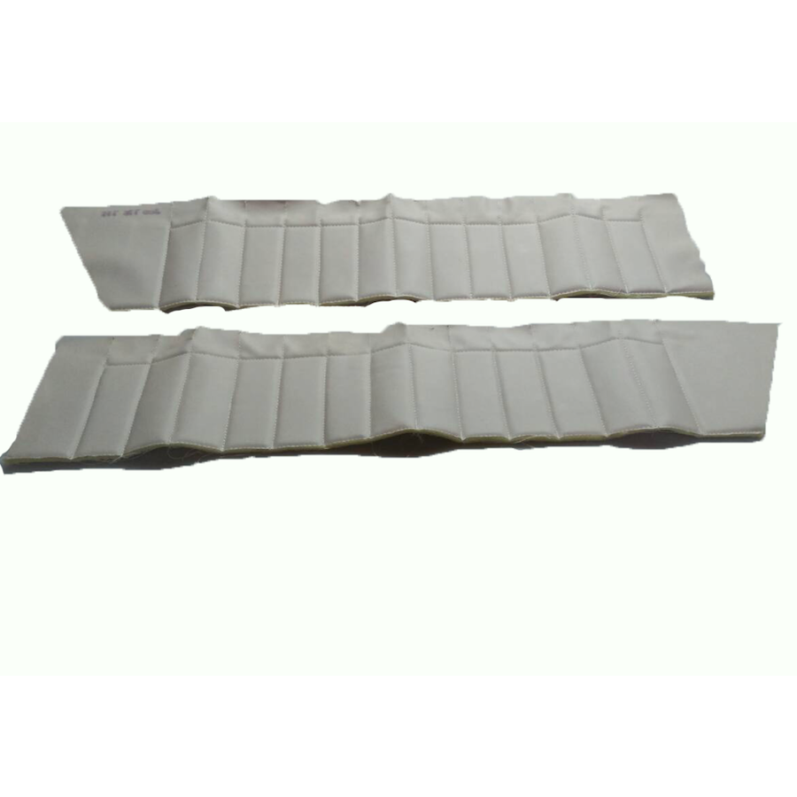 Deurbekleding set [4] bovenkant wit skai voor 4 deuren Citroën ID/DS-3