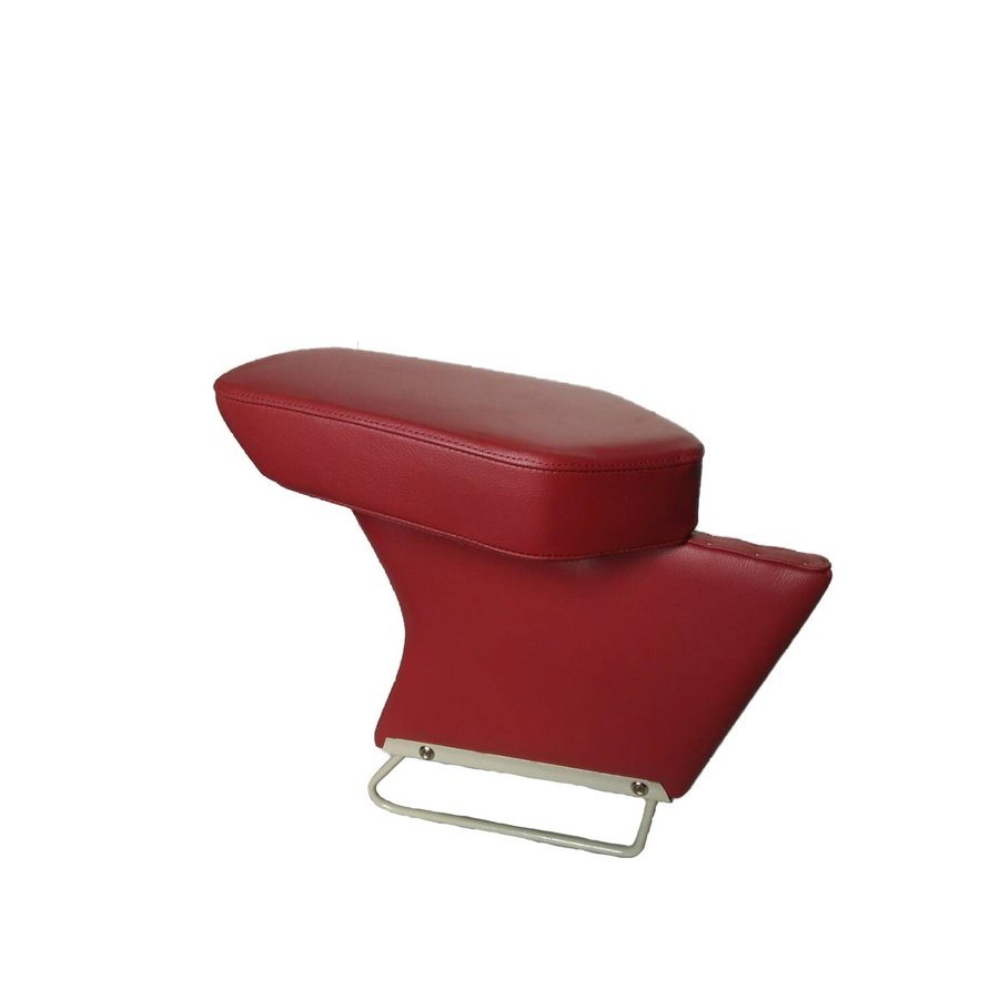 Central armrest red leather Citroën ID/DS-1