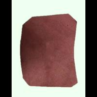 thumb-Garniture inférieure du pied du milieu G en cuir rouge Citroën ID/DS-1