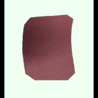 thumb-Garniture inférieure du pied du milieu G en cuir rouge Citroën ID/DS-2
