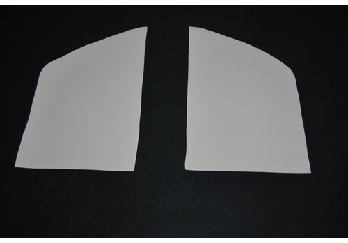 Set[2] voor bekleding van de binnenkant van de C stijl in wit skai Citroën ID/DS