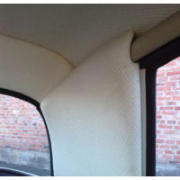 thumb-Set[2] voor bekleding van de binnenkant van de C stijl in wit skai Citroën ID/DS-2
