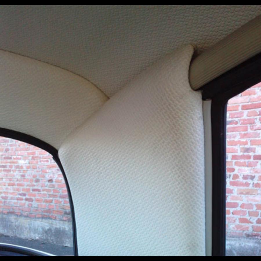 Set[2] voor bekleding van de binnenkant van de C stijl in wit skai Citroën ID/DS-2